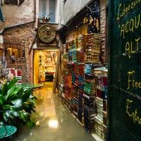 Libreria Acqua Alta - an original bookshop in Venice