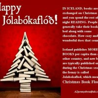 Happy Jolabokaflod!