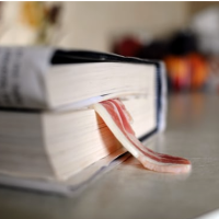 Bacon, cheese slices and sawblades: the strangest bookmarks left at libraries